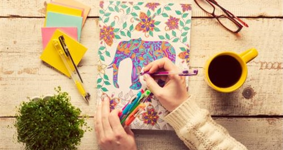 The Benefits of Adult Colouring Books