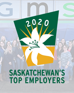 Our 8th year as a Top Saskatchewan Employer!