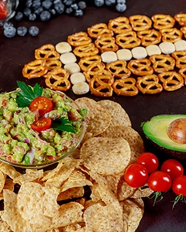 Be a Healthy Snack Super Bowl Champion!