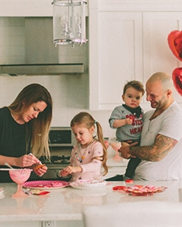 Celebrate Love with the Family this Valentine's Day